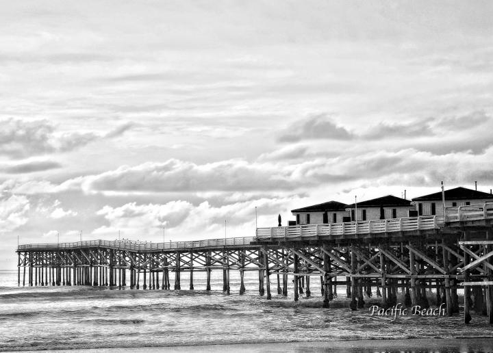 Pacific Beach Crystal Pier